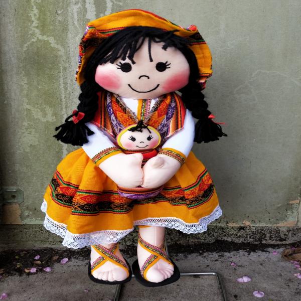 yellow doll