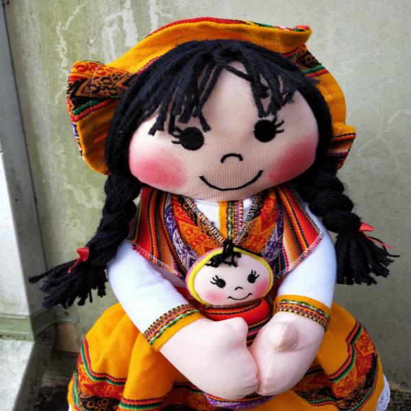 Doll-XL campesina doll