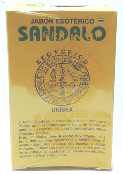 Spiritual Soap- Sandal wood- Jabon Esoterico Sandalo