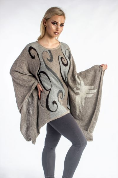 Jumper- 100% Baby Alpaca/ Butterfly Arm