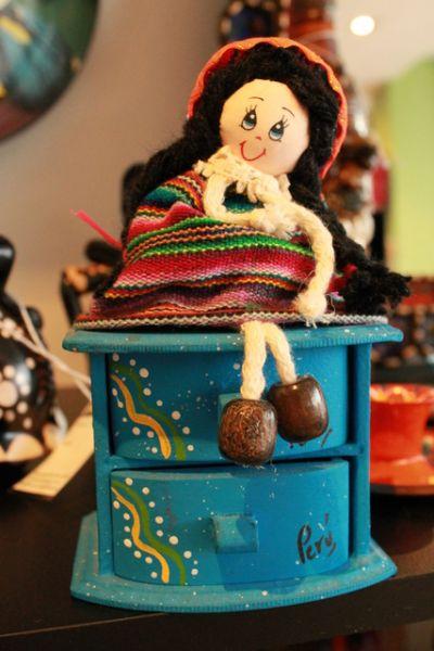 Jewellery Box with Dolls