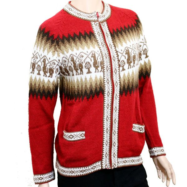 Unisex- Alpaca blend cardigan- MORE COLORS