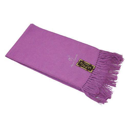 alpaca blend scarf pink